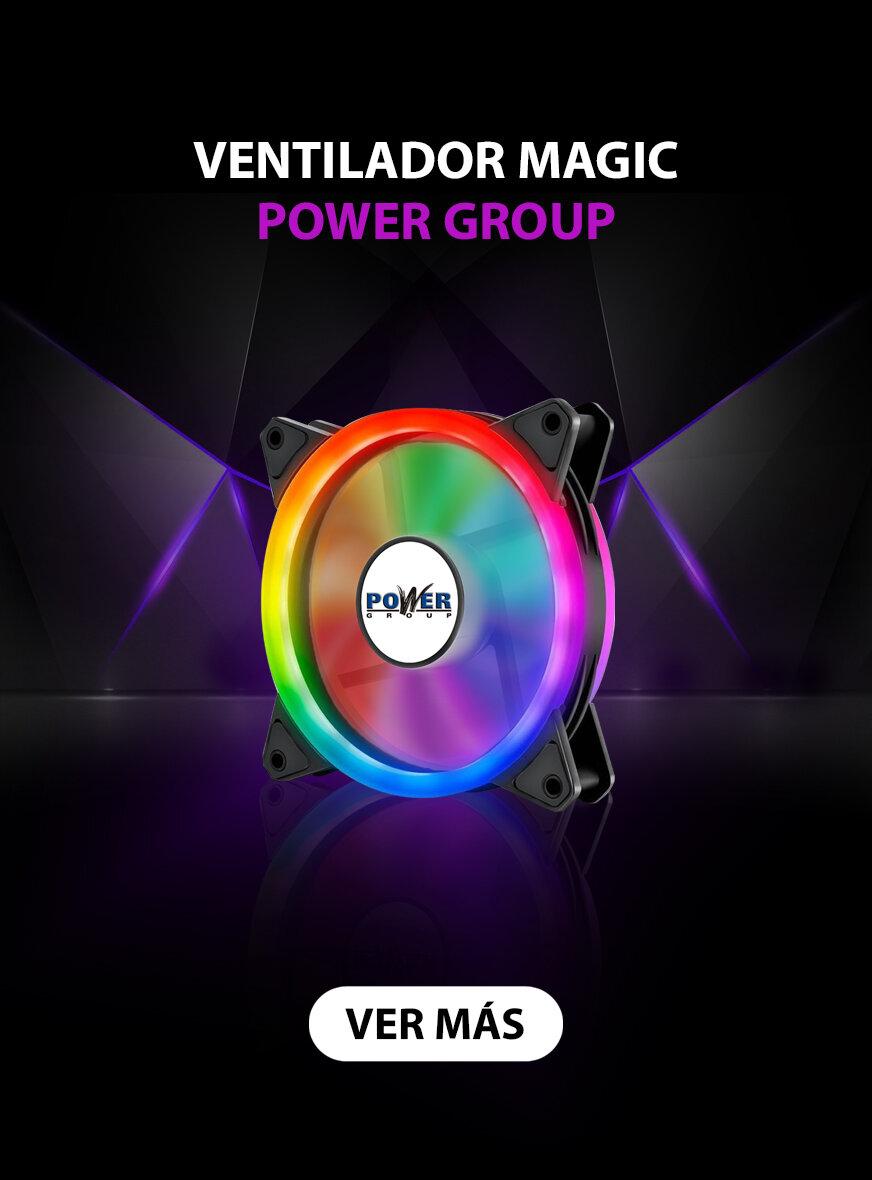 Banner Ventilador Magic Power Group
